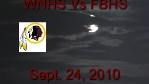 Thumbnail for entry WNHS Vs FBHS Highlights