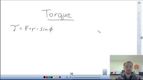 Thumbnail for entry Intro to Torque Calculations
