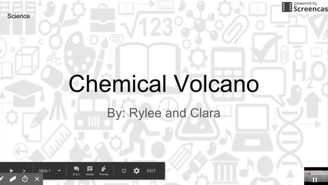 Thumbnail for entry Chemical Volcano
