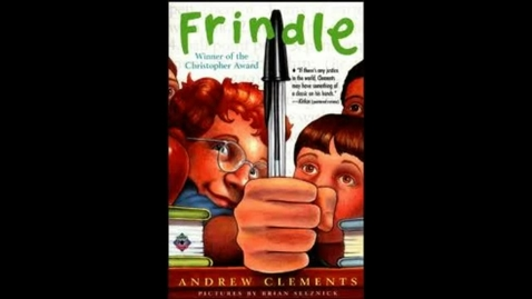 Thumbnail for entry Frindle book Trailer