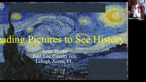 Thumbnail for entry FCSS Spring Virtual Conference Session: Reading Pictures to See History