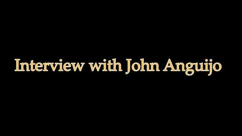 Thumbnail for entry John Anguijo