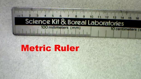 Thumbnail for entry Measuring in the Lab