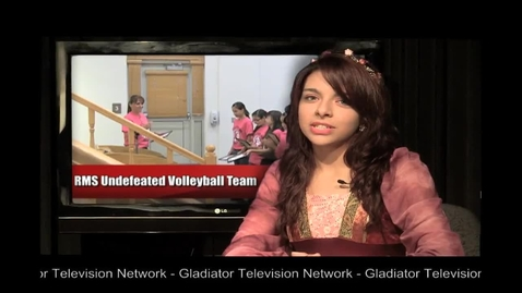 Thumbnail for entry RMS Undefeated Volleyball Teams - Quick News