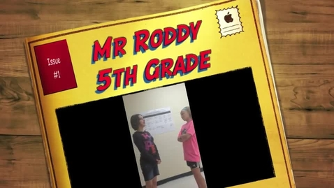 Thumbnail for entry Mrs. Roddy 5th Grade