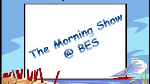 Thumbnail for entry The Morning Show @ BES - October 4, 2013