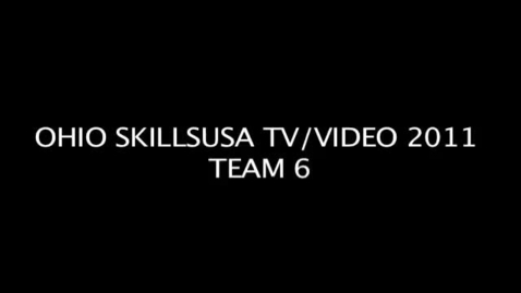 Thumbnail for entry SkillsUSA TV/Video Production 1st Place Video Todd Thompson and Billy Lewandowski