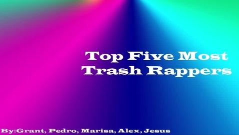 Thumbnail for entry Top 5 Trash Rappers - WSCN (Sem 2 2017)