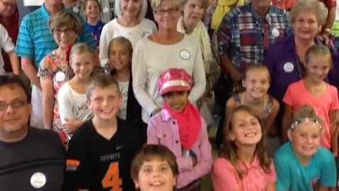 Thumbnail for entry Grandparents' day in Mrs. Tate's Fourth Grade Class