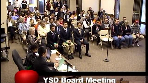 Thumbnail for entry Board Business Meeting Seg. 1 - April 2011