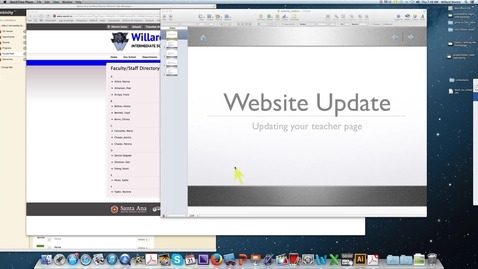 Thumbnail for entry Schoolwire- Best Practices and Key Features