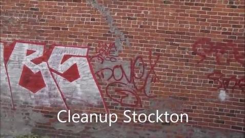 Thumbnail for entry App aims to rid Stockton of graffiti