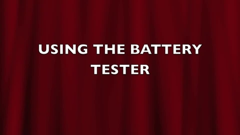 Thumbnail for entry BT1-Using a battery tester