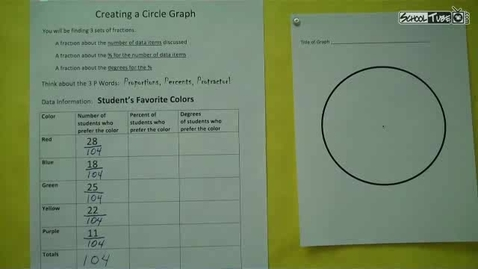 Thumbnail for entry Mathlady's Circle Graph Pt 2