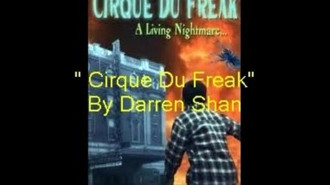 Thumbnail for entry Cirque du Freak Booktrailer