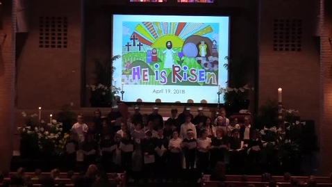 Thumbnail for entry St. Louis School Mass Led By Kindergarten 4-19-18