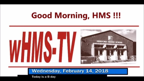 Thumbnail for entry 2-14-18 WHMS Morning News