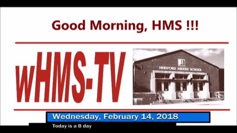 Thumbnail for entry 2-14-18 WHMS Morning News