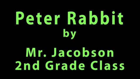 Thumbnail for entry Peter Rabbit 2016 2J
