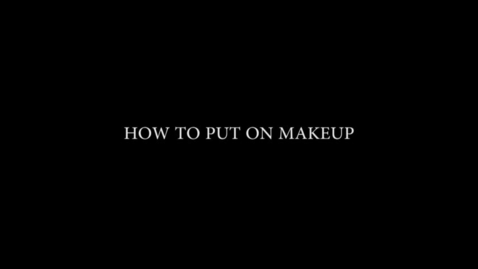 Thumbnail for entry Arayla's Makeup Tips - WSCN PTV 3 (2017/2018)