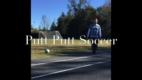 Thumbnail for entry soccer putt putt.mov