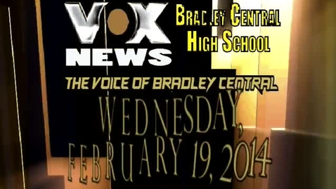 Thumbnail for entry VOX News for February 19, 2014