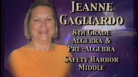 Thumbnail for entry Jeanne Gagliardo-Teacher profile