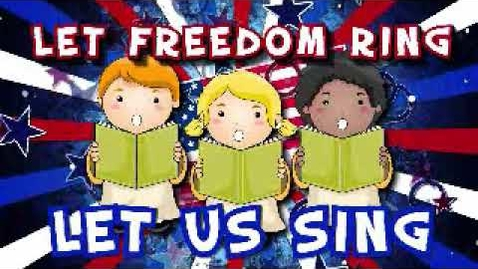 Thumbnail for entry Let Freedom Ring (Lyric Video) | Let Freedom Ring [Simple Series for Kids]