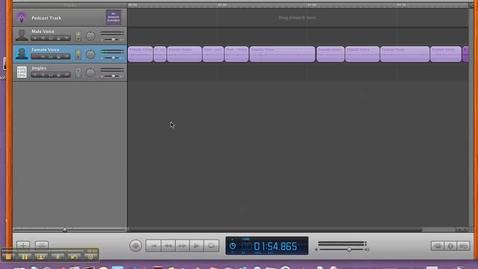 Thumbnail for entry Export GarageBand Podcast