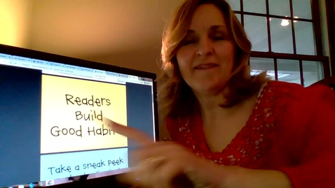 Thumbnail for entry Readers Build Good Reading Habits