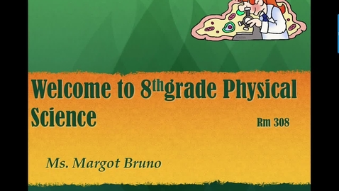Thumbnail for entry Physical Science introduction to parents