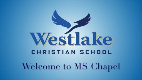 Thumbnail for entry Westlake MS Chapel 9/9