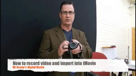Thumbnail for entry How to upload video to iMovie with an sD card and Nikon P500