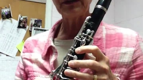 Thumbnail for entry End Zone 1st clarinet pt 2