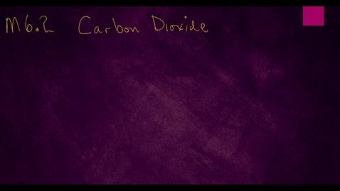 Thumbnail for entry Clip of M6.2 Carbon Dioxide