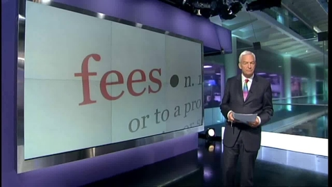Thumbnail for entry Tuition fees debate