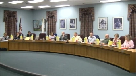 Thumbnail for entry Board of Education Meeting 6/6/13