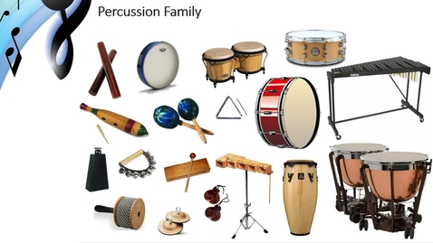 Thumbnail for entry Percussion Family Video