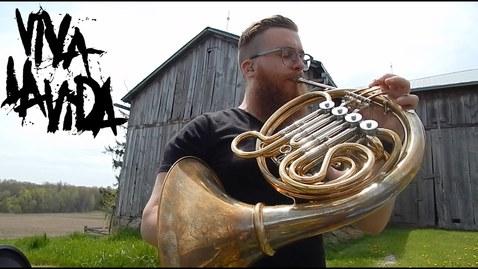 Thumbnail for entry Viva La Vida // French Horn Loop Pedal