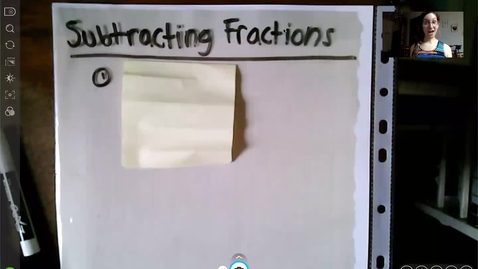Thumbnail for entry Lesson 2 Subtracting Fractions