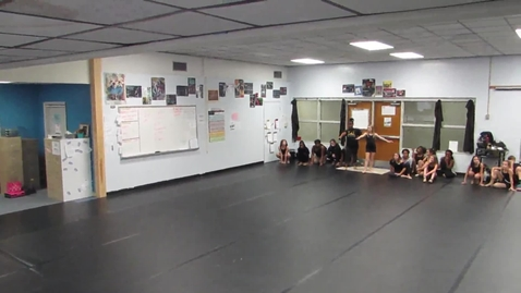 Thumbnail for entry 3rd Period 6th grade rehearsal of Element dance 10-26-15