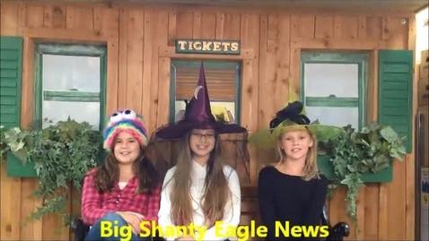 Thumbnail for entry Big Shanty Eagle News 1-28-2015