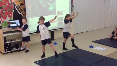 Thumbnail for entry Nicol Mere y2 gymnastics lesson - vault and sequences