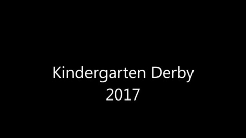 Thumbnail for entry Kindergarten Derby at PGE
