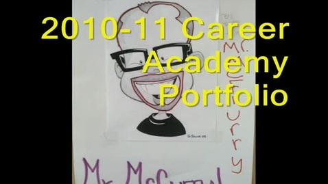 Thumbnail for entry Mr. McCurry's Class