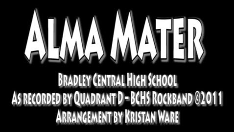 Thumbnail for entry BCHS Alma Mater sing-a-long