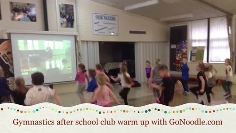 Thumbnail for entry 'Go Noodle' the fun way to warm up in school sports