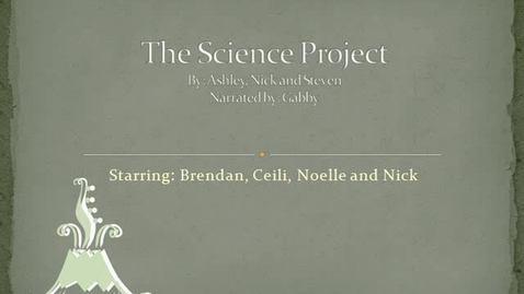 Thumbnail for entry The Science Project