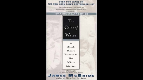 Thumbnail for entry Color of Water by James McBride