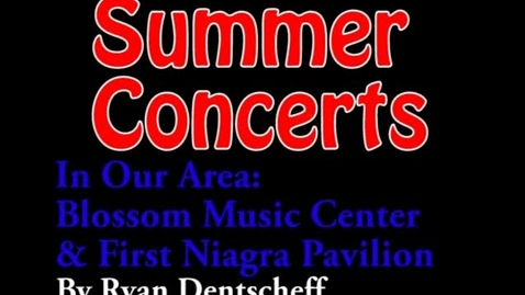 Thumbnail for entry Summer Concerts 2009 - WSCN (2009-2010)